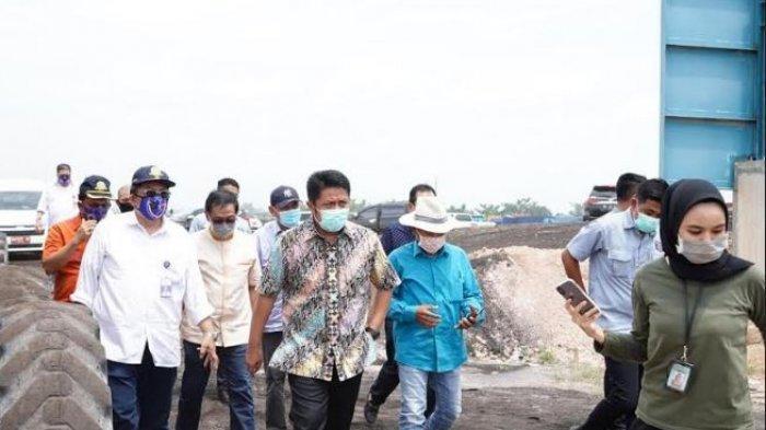Gubernur Sumsel Cek Kemandirian Perusahaan,Lihat Pengangkutan Batubara Jalur Kereta Api dan Sungai