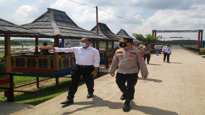 Bakal Dikunjungi Menparekraf Sandiaga Uno, Kapolres OI Pastikan Desa Wisata Burai Kondusif