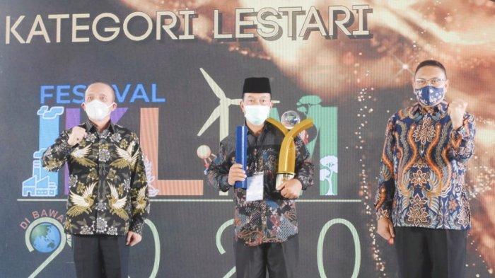 Desa Pelakat Binaan PTBA Raih Penghargaan Proklim Lestari 2020