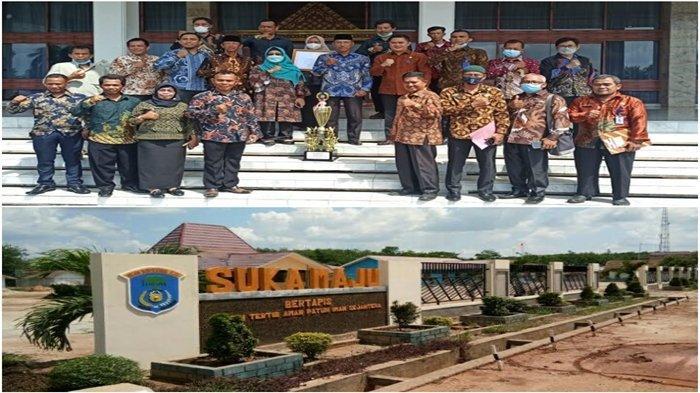 Desa Suka Maju Lempuing Jaya OKI Masuk 3 Desa Terbaik Se-Sumsel