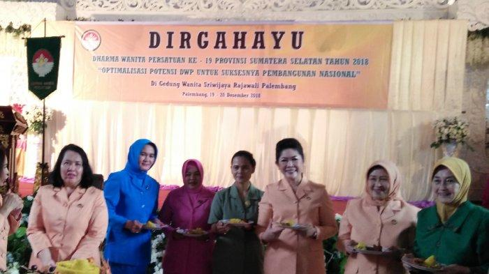 Meriahnya Acara DWP Sumatera Selatan