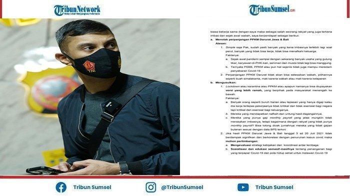 Didi Riyadi Apresiasi Publik yang Sudah Banyak Merespon Surat Terbukanya Pada Presiden Jokowi