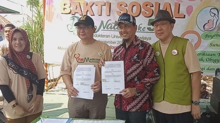 Dokter Alumni FK Unsri Masuk Desa Terpencil, Tanggulangi ISPA di Banyuasin