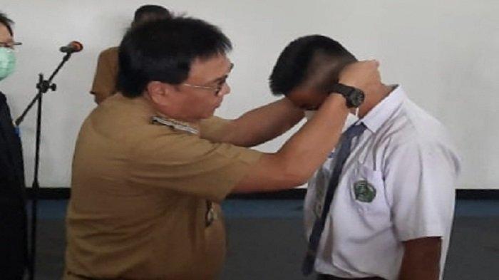 50 Anggota Pasukan Pengibar Bendera Pusaka Muara Enim Ikuti Diklat