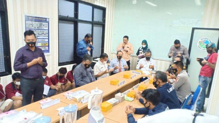 Polda Sumsel Musnahkan 3,5 Kilogram Sabu Asal Aceh