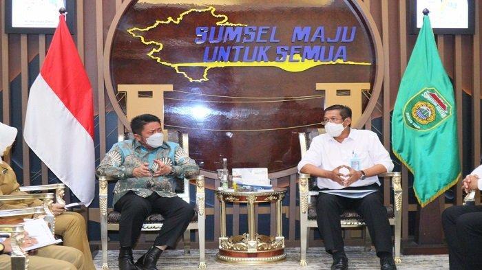 Dukung Pembangunan Kelistrikan, HD Sambut Baik Kunjungan Direktur PLN Regional Sumatera Kalimantan