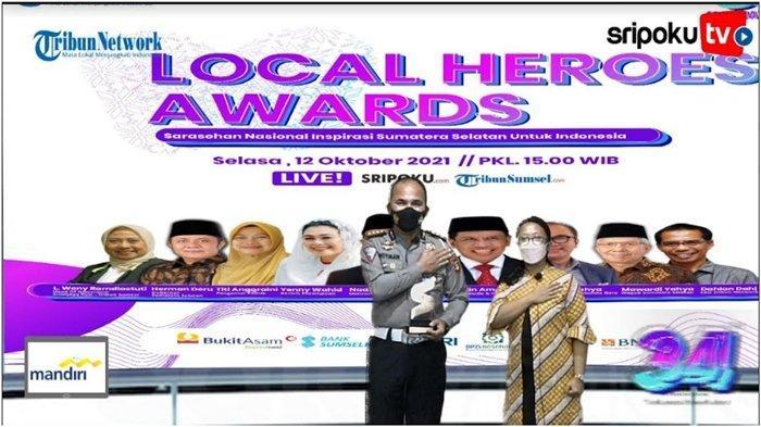 Dirlantas Kombes Pol Hotman Sirait Raih Local Heroes Award, Jadi Motivasi untuk Lebih Baik