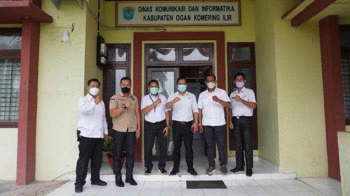 Disambangi Humas DPRD Muba, Diskominfo OKI Bagi Kiat Kelola Komunikasi Publik.