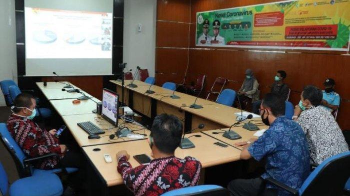 Diskominfo Banyuasin dan Media Lokal Bersinergi Publikasi Percepatan Penanganan Covid-19