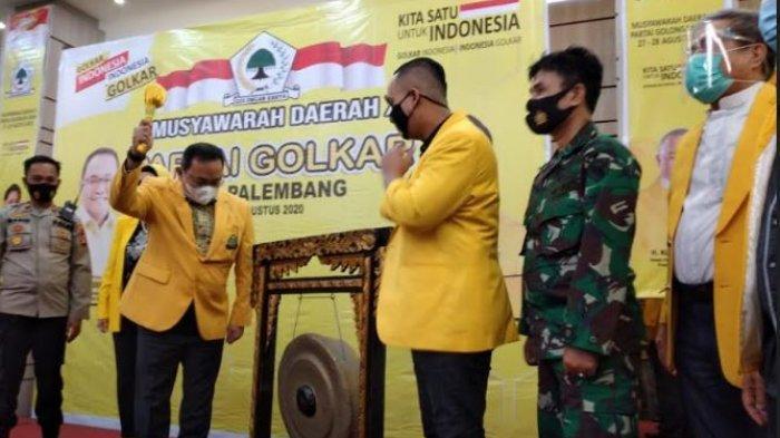 Dodi Ingin Palembang Kembali Jadi Lumbung Suara Golkar, Minta Kader Selalu Dekat dengan Rakyat
