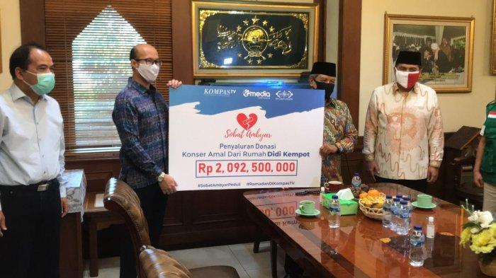 Gandeng LAZIS Nahdlatul Ulama, KompasTV dan Didi Kempot Salurkan Rp 2 M Donasi Sobat Ambyar Peduli