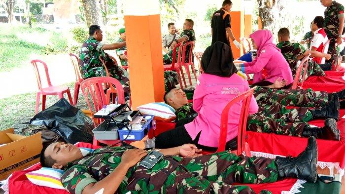 Donor Darah Ramaikan Acara Mom & Kids Day Out  'Family Camping Fun' Tribun Sumsel