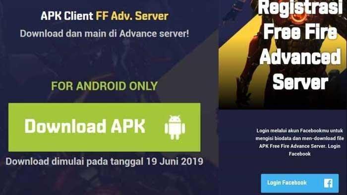 Download Apk Advanced Server Ff Free Fire 66 0 3 Terbaru 2019 Download Di Sini Tribun Sumsel