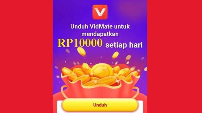 Download Apk VidMate, Aplikasi Penghasil Uang Terbaru dapat Rp 10 Ribu Seriap Hari