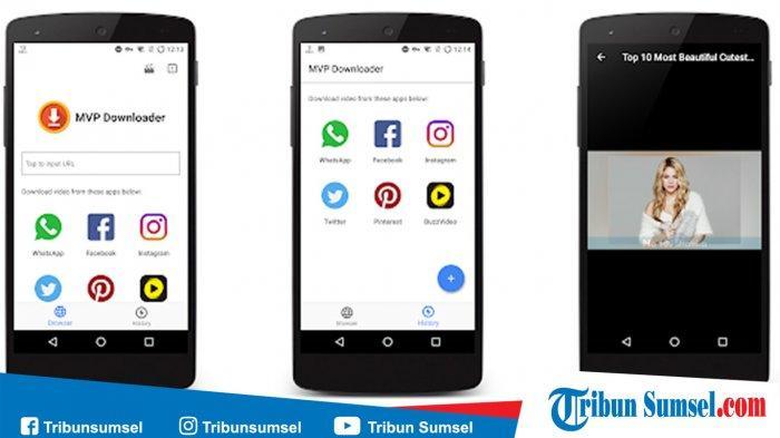 8 Aplikasi Download Video Youtube Instagram Facebook Terbaik Di Android 2019 Wajib Ada Di Hp Tribun Sumsel