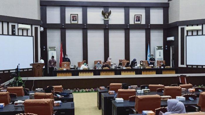 Seluruh Anggota DPRD OKI Sepakati Draf Pembentukan Peraturan Daerah Tahun 2021
