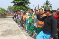 Puncak HUT TNI Gelar Drama Kolosal SMB I