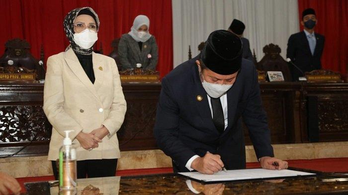 Legislatif Ketuk Palu Setujui Dua Raperda Usulan Pemprov Sumsel