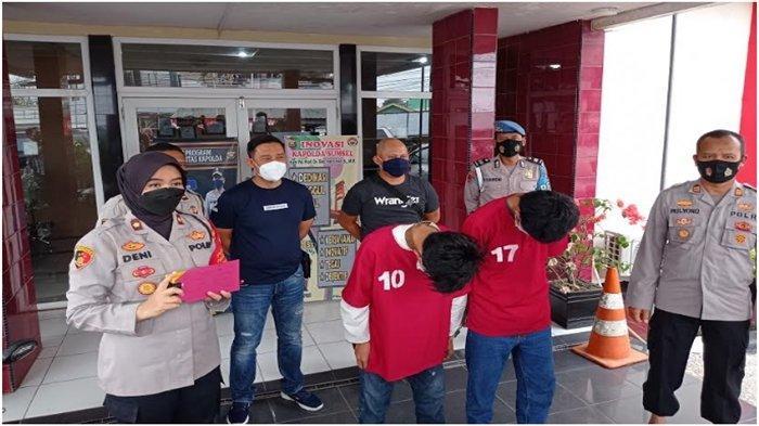 Ikutan Mengeroyok dan Mencuri di Tempat Kos, 2 Remaja di Palembang Ditangkap Polisi, 1 Siswa SMA