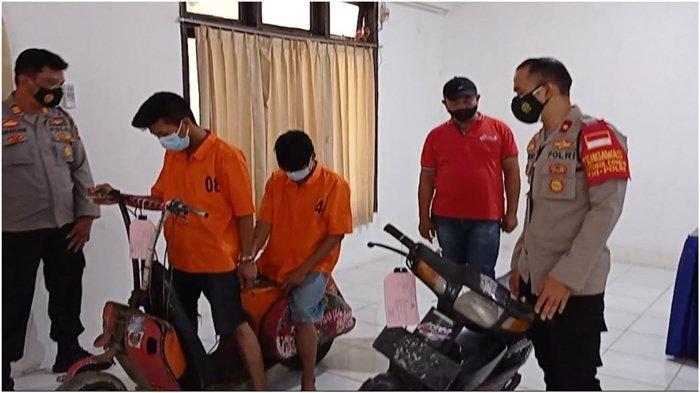 Dua Pemuda Saudara Kembar di Palembang Curi Motor Vespa Anak Punk, 'Kami Dendam Pernah Dikeroyok'