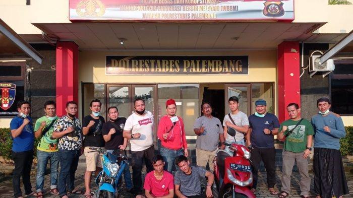 Inilah Dua Spesialis Curnamor di Palembang yang Meresahkan