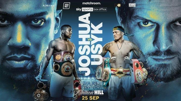 Jadwal Tinju Dunia Akhir Pekan ini : Anthony Joshua vs Oleksandr Usyk, Bakal Jadi Laga Sulit