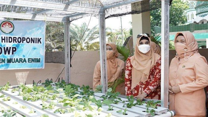e-Reporting Dharma Wanita Persatuan (DWP) Muara Enim Raih Peringkat ke-3 se-Sumsel