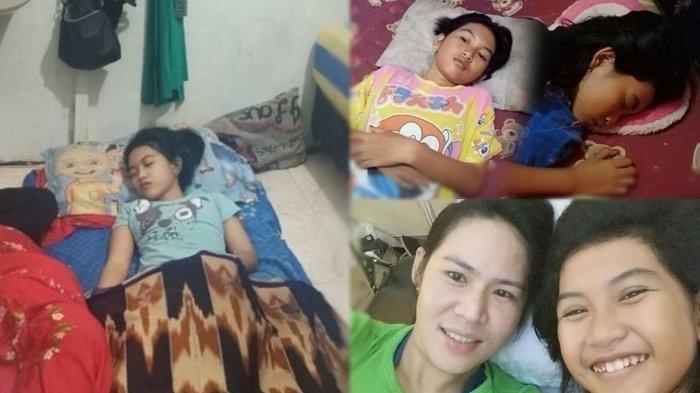 Echa Gadis di Banjarmasin yang Viral Tertidur 13 Hari, Kini Kembali Tertidur Sudah 4 Hari Tak Bangun