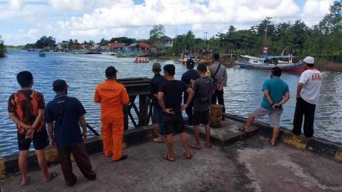 Edi Pradesa (42) warga Desa Gantung, Kecamatan Gantung, Belitung Timur diterkam buaya, Minggu (13/6/2021) sekitar pukul 05.30 WIB.