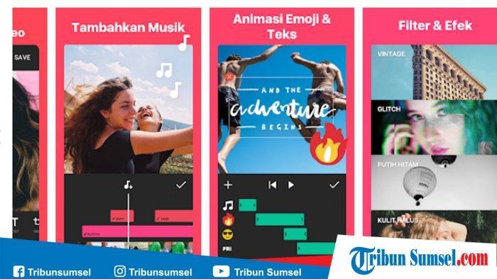 Cara Edit Foto Jadi Lagu Dan Video Di Android Menggunakan Aplikasi Inshot Tribun Sumsel