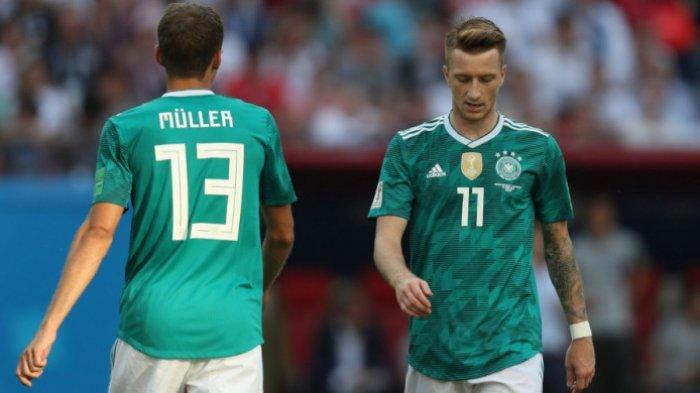 Piala Dunia 2018 Rusia - Tragis, Jerman Butuh Menang, Malah Kalah dari Korea Selatan
