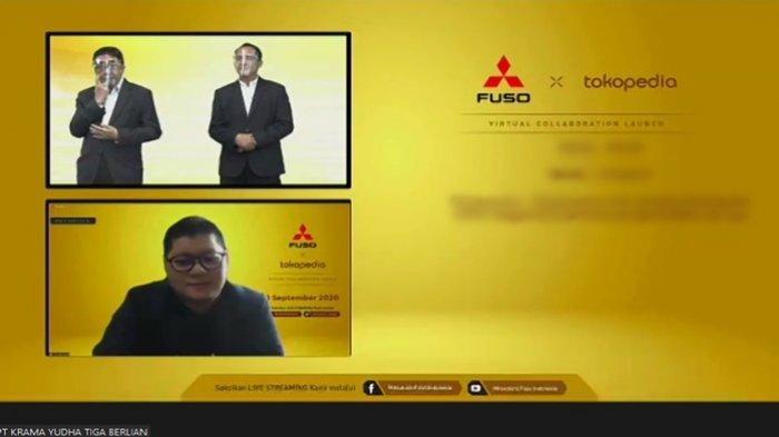 Jualan Truk via Online, KTB Luncurkan Mitsubishi Fuso Official Store di Tokopedia