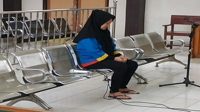 Ernawati Warga Lorong Keramat 5 Ulu Palembang Dituntut 18 Tahun Penjara, Ditangkap Bawa Ganja 43 Kg