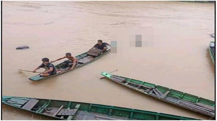 Mengambang di Sungai Ogan OKU, Ciri Mayat Mr X, Usia 40-an, Ada Tato Bentuk Bintang di Tangan Kiri