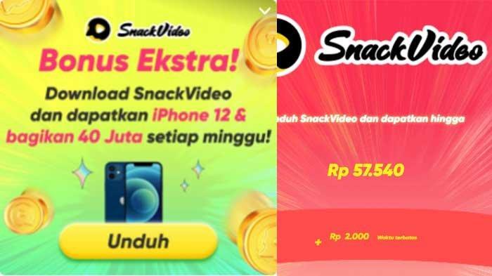 Event Snack Video Bonus Ekstra Terbaru, Dapatkan IPhone 12 & Bagikan 40 Juta Setiap Minggu!