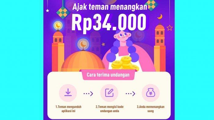Event Terbaru Aplikasi LIKEit Lite Penghasil Uang Tercepat 2021, Ajak Teman Menangkan Rp 34 Ribu