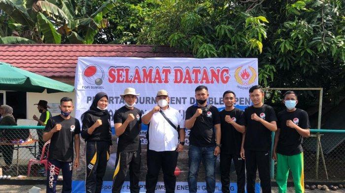 Tim Ogan Ilir Kirim Atlet Terbaik Ikut Turnamen Petanque Double Open se-Sumsel