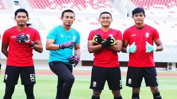 Profil Tiga Kiper Andalan Sriwijaya FC di Liga 2 : Rizky Darmawan, Hendra Mole, Rudi Nurdin Rajak