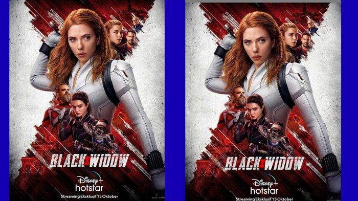 Film Black Widow Akan Hadir di Disney+Hotstar 15 Oktober 2021, Ini Link Nonton Streaming