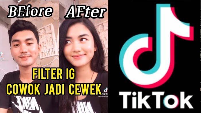 Filter Cowok Jadi Cewek Cantik di Tiktok, Viral Aplikasi FaceApp Ini Cara Pakai Filternya