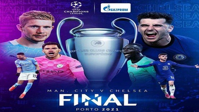 Final Liga Champions Manchester City vs Chelsea, Berdasarkan Fakta Sejarah Tak Berpihak ke City