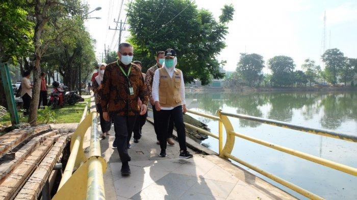 Anggaran Rp 1 Miliar untuk Normalisasi Kolam Retensi dan Aliran Sungai Sekanak