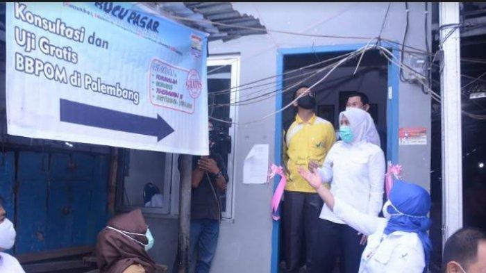 Ada 4 Pojok Pasar di Palembang, Tempat Pemeriksaan Keamanan Makanan Gratis