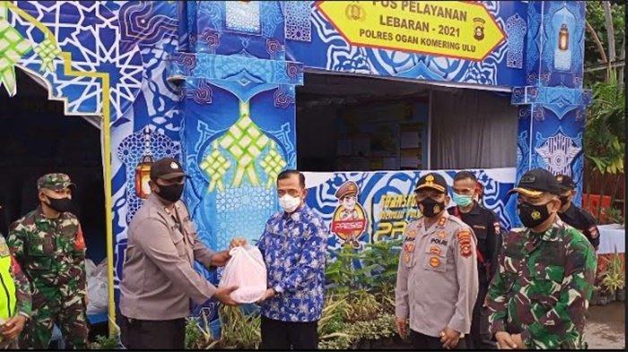Forkopimda Kabupaten OKU Tinjau Pos Pelayanan Operasi Ketupat Musi 2021