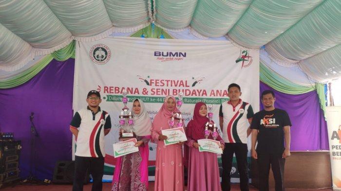 PT Semen Baturaja Gandeng Rumah Zakat Adakan Festival Rebana & Seni Budaya Anak