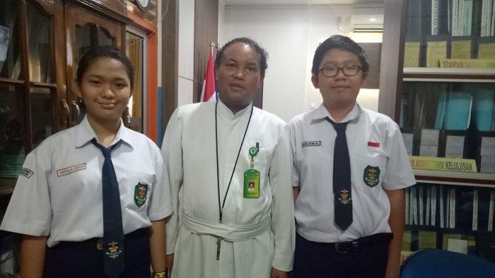 Alumni SDK Frater Xaverius 2 Palembang, Gabriela & Demetrio Wakili Sumsel Ajang OSN Tingkat Nasional