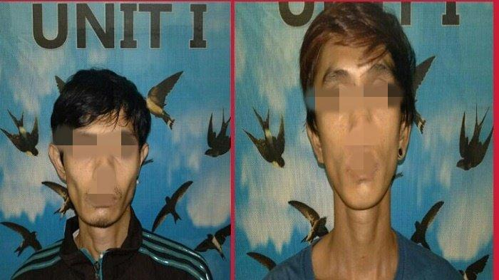 Panik Polisi Datang, Pria Ini Buang Paket Narkotika Didepan Toko Reklame Jalan Letnan Marzuki Lahat
