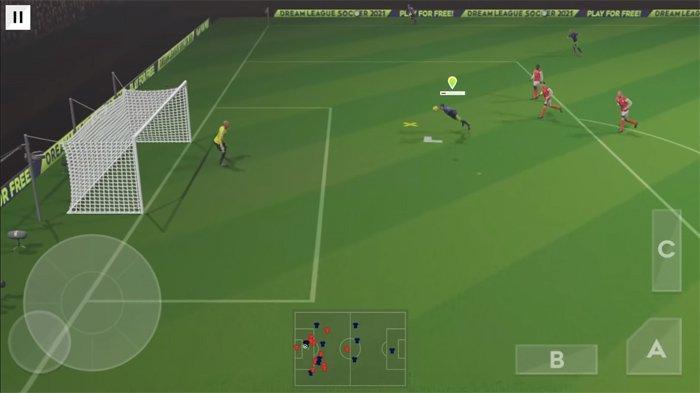 Gameplay Dream League Soccer