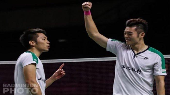 Fakta Ganda Taiwan Lee/Wang, Kalahkan Sang Idola Ahsan/Hendra, Hattrick Juara Awal Tahun 2021