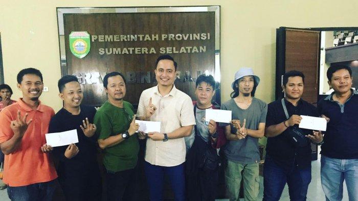 Pererat Tali Silahturahmi dengan Media, Biro Humas Protokol Sumsel Gelar Gaple Meriahkan HUT RI
